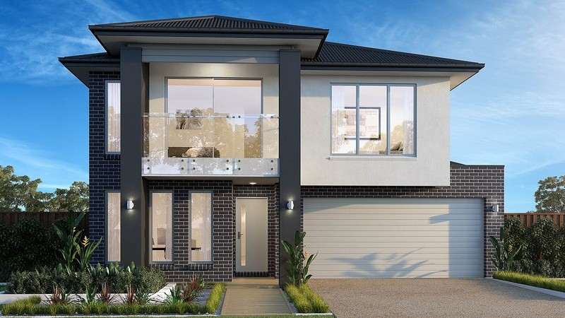 Double storey Torquay House by Beachwood Homes