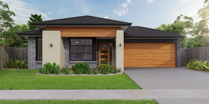 Single storey Bentleigh House by True Value Homes