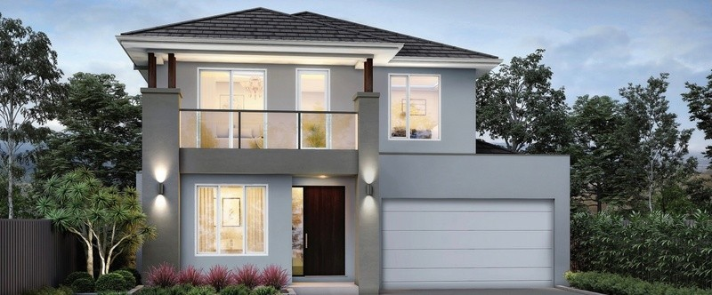Double storey Commonwealth 41 - Plato House by Singh Homes