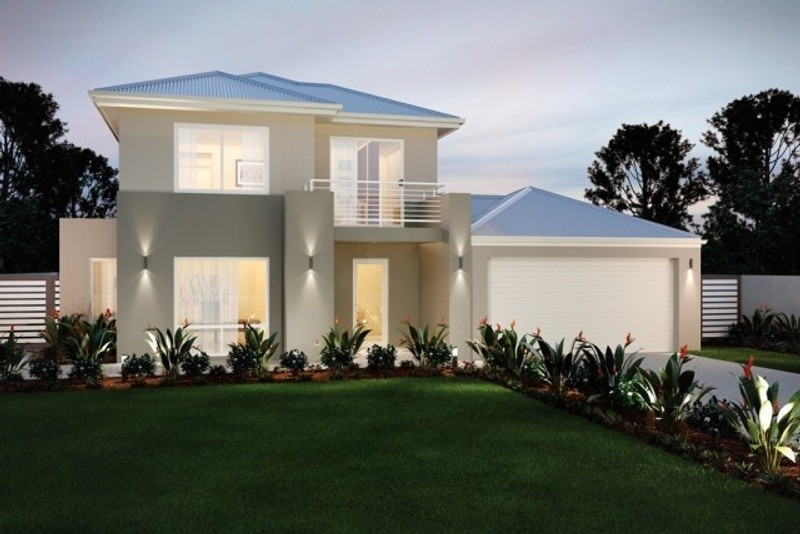 Double storey The Pearson House by New Level Homes