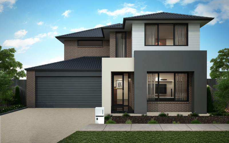 Double storey Norfolk 387 House by Omnia Homes