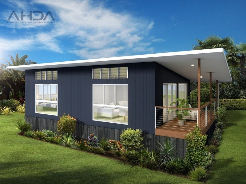 Single storey GF1001 Granny Flat by Architectural House Designs Australia