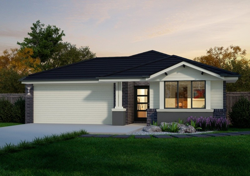 3 beds, 2 baths, 2 cars, 16.38 square facade