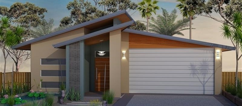 Single storey Coolum 240 House by Jazz Homes