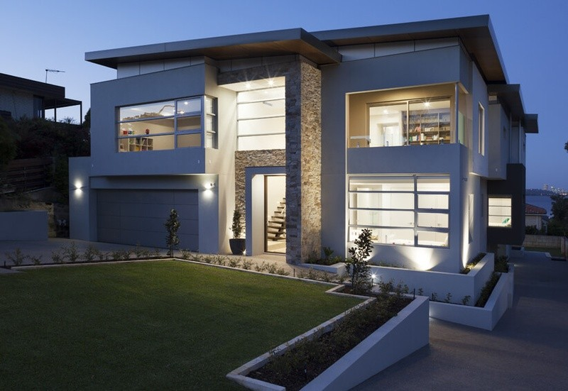 Double storey Attadale House by Bellagio Homes