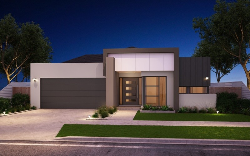 Single storey Modern House by Chatham Homes