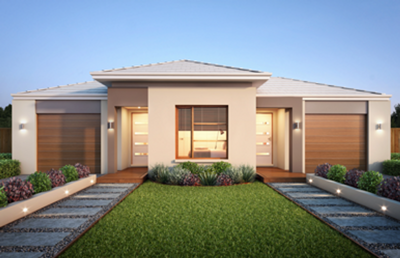Single storey Duo 2 Townhouse by Davrose Homes
