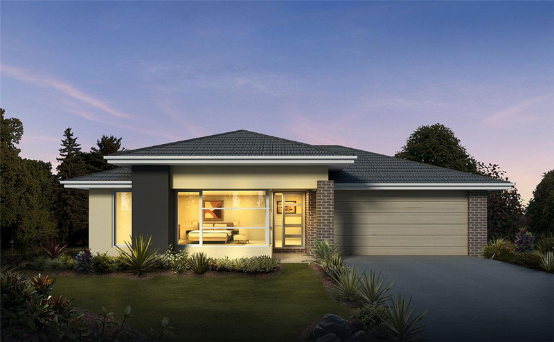 Single storey Acacia 34 House by Orbit Homes