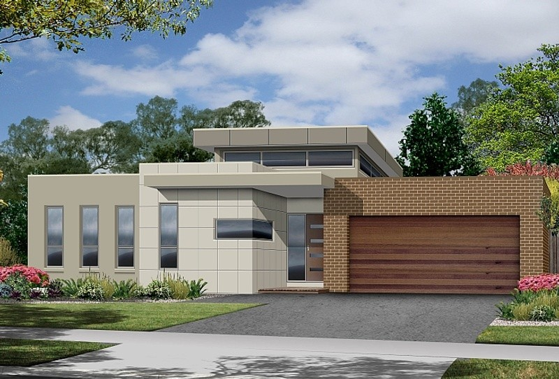 Single storey Modern House by Renmark Homes