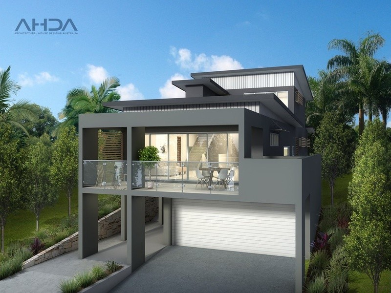 Single storey Modern House by Architectural House Designs Australia
