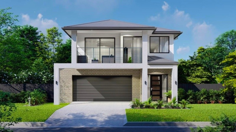 Double storey Brooklyn House by Homes4You Queensland