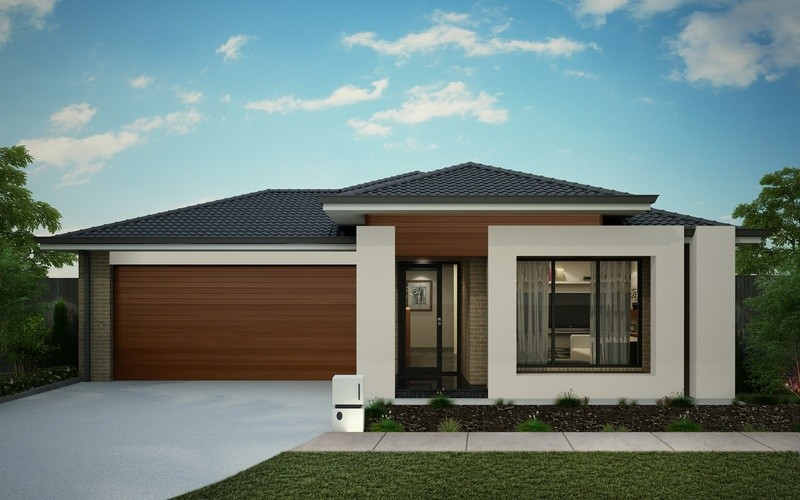 Single storey Oasis 286 House by Omnia Homes