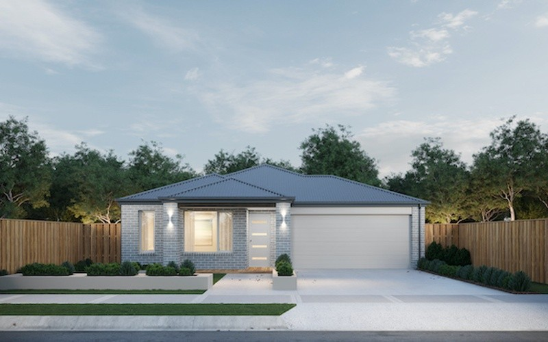 3 beds, 2 baths, 2 cars, 16.10 square facade