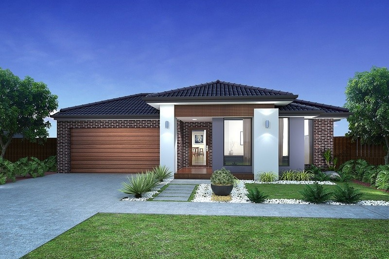 Single storey Archie 260 House by Mimosa Homes