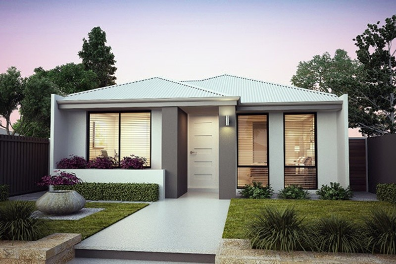 Single storey The Murray House by B1 Homes