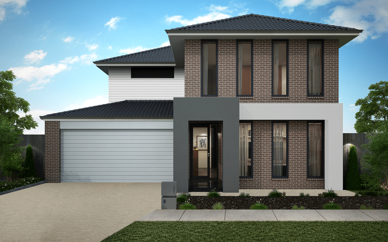 Double storey Saville 513 House by Omnia Homes