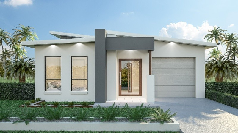 Single storey Addison House by BuildTec Homes