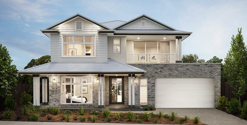 Double storey Lorne House by Beachwood Homes
