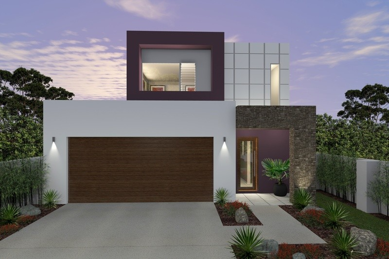 Double storey Willow House by Rex Homes