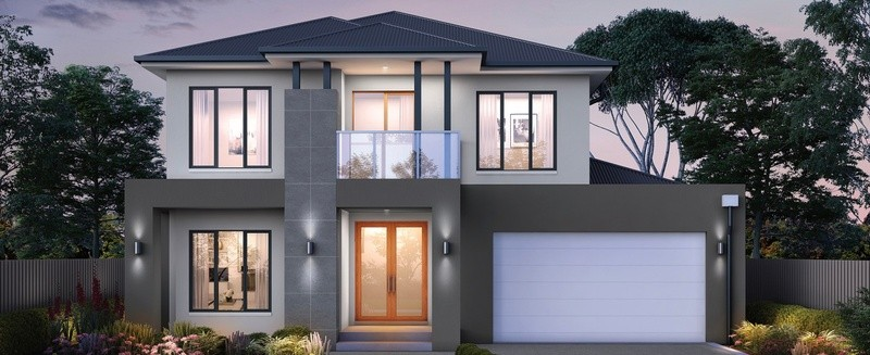 Double storey Field 41 - Plato House by Singh Homes