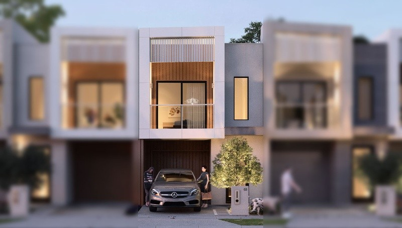 Double storey Turner - townhouse Townhouse by Burbank Homes SA