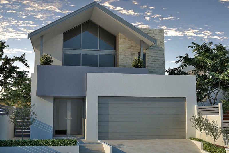 Double storey Coastal House by Renowned