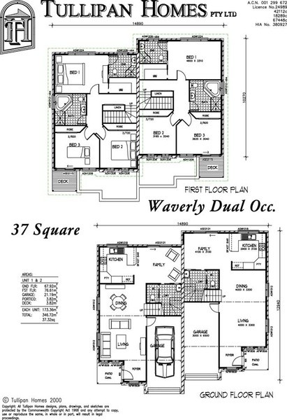 3 beds, 2 baths, 1 cars, 18.50 square main