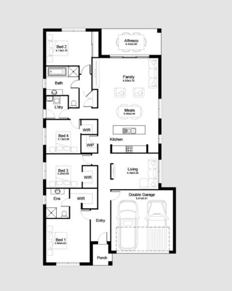 Single storey Sohar House design