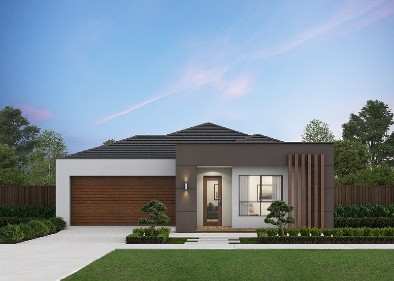Single storey Bellmont 241 House by Omnia Homes