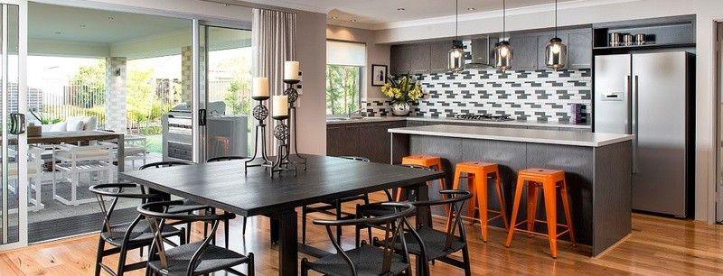 Single storey The Franklin House by Commodore Homes