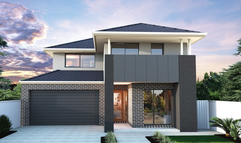 Double storey Liberty 305 House by Bentley Homes