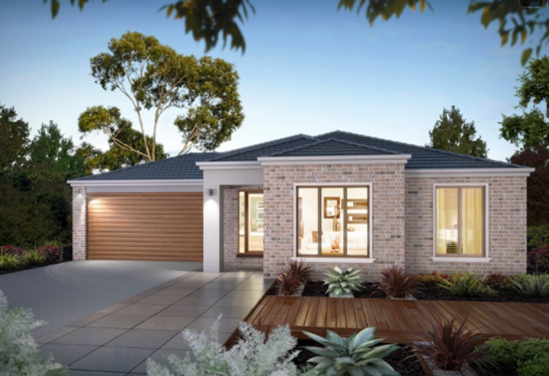 Single storey The Oakdale House by Aspire Designer Homes