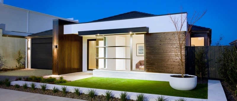 Single storey EVE 35 House by Sienna Homes