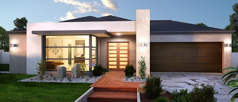 Single storey EVE 30 House by Sienna Homes