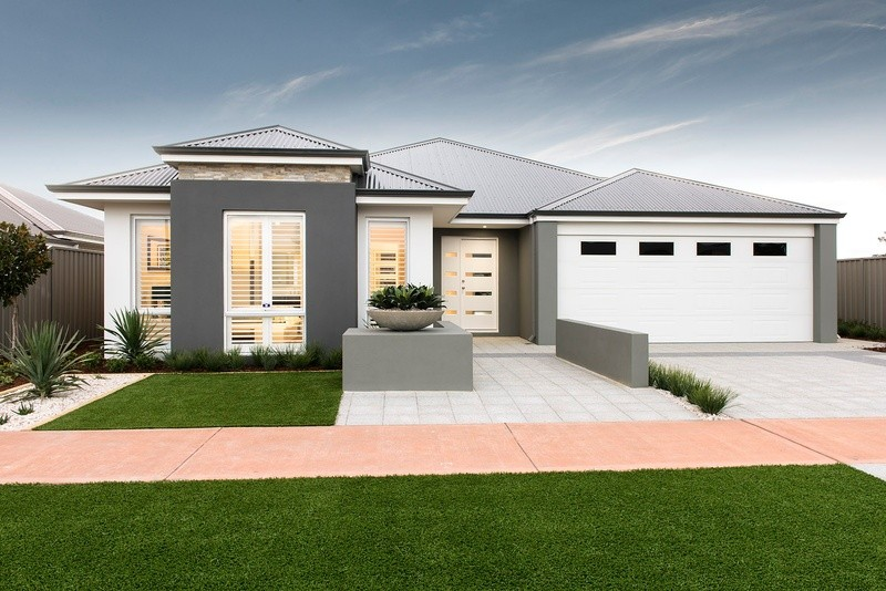 Single storey The Bayview House by DreamStart Homes