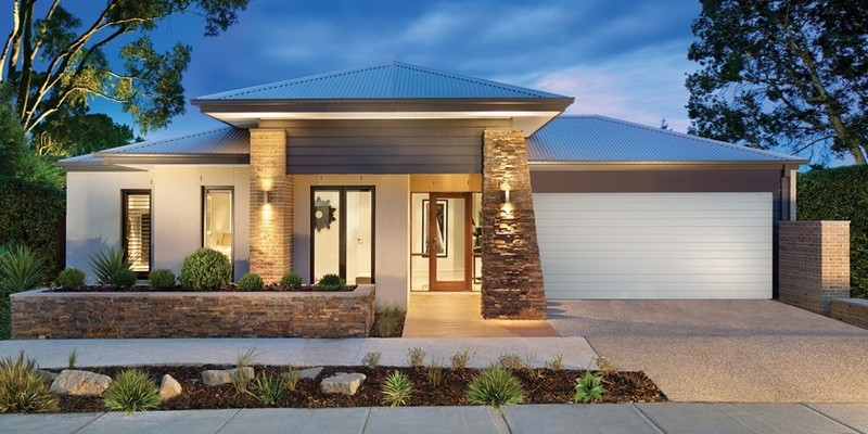 Single storey The Drysdale House by Aspire Designer Homes