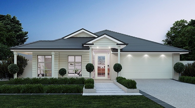 Single storey Brooklyn 283 House by Pantha Homes