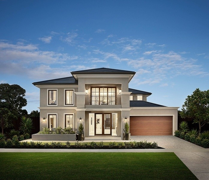 Double storey Astoria House by Carlisle Homes