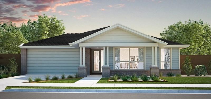 Single storey Kidman House by Burbank Homes SA