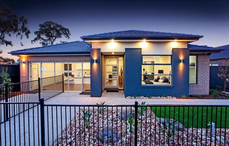 Single storey Belmont 188 House by Mimosa Homes