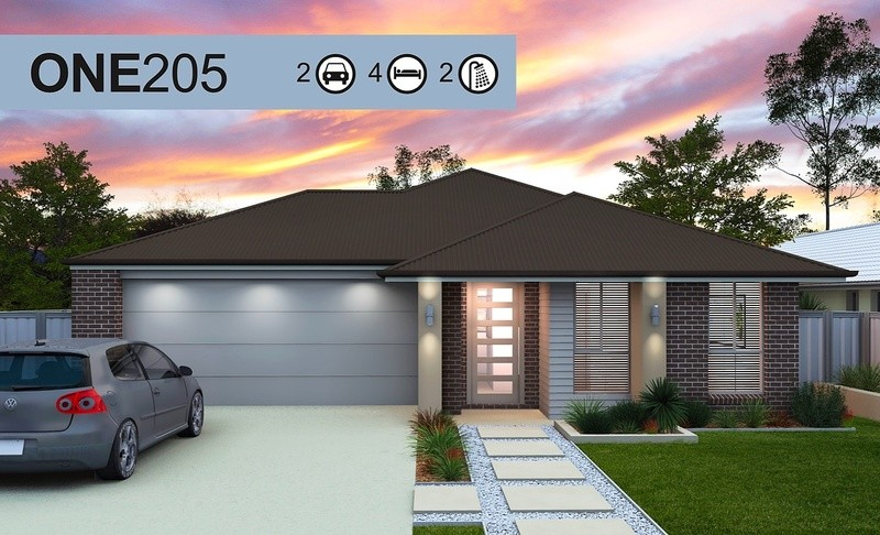 Single storey One 205 House by Homes4You Queensland