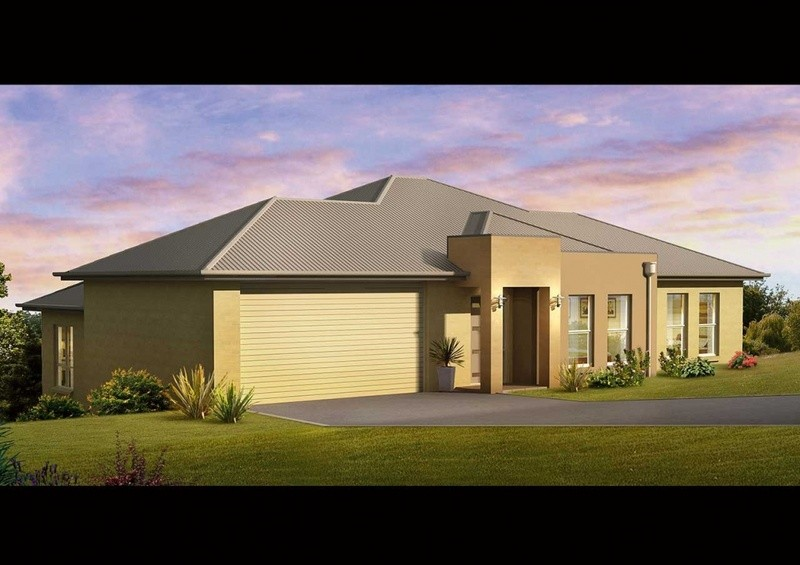 Single storey SL 185 House by Rendition Family Homes