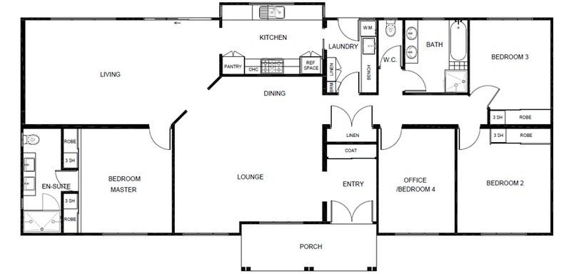 4 beds, 2 baths, 0 cars, 20.50 square main