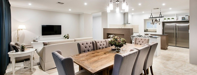 Single storey The Northcliffe House by Commodore Homes