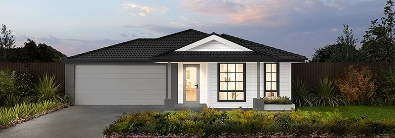 Single storey Charlton 17.5 House design