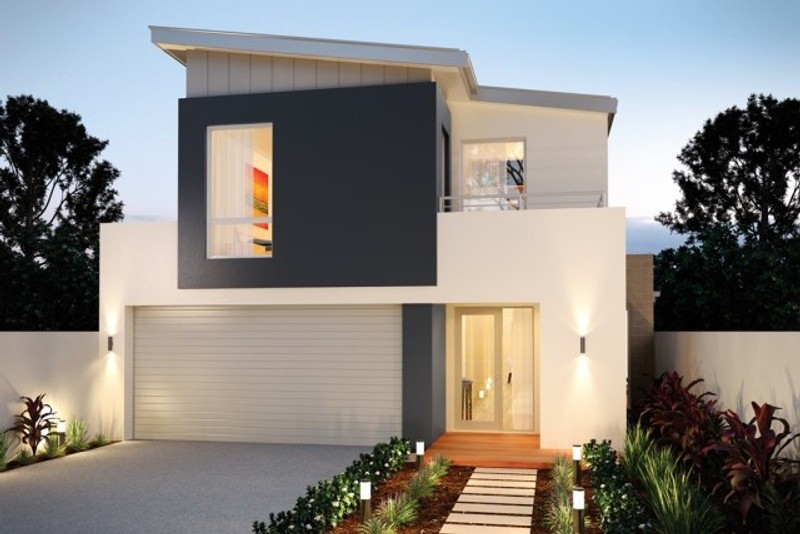 Double storey The Sutherland House by New Level Homes