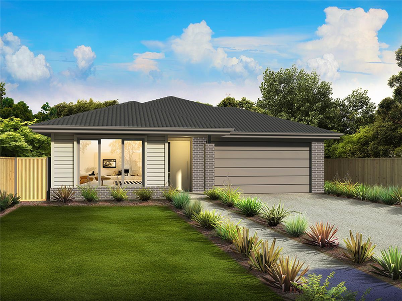 Single storey Caulfield 204 House by Orbit Homes