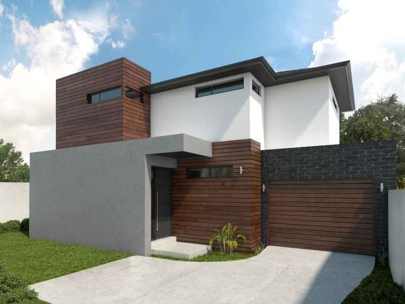 Double storey Greensborough townhouse Townhouse design