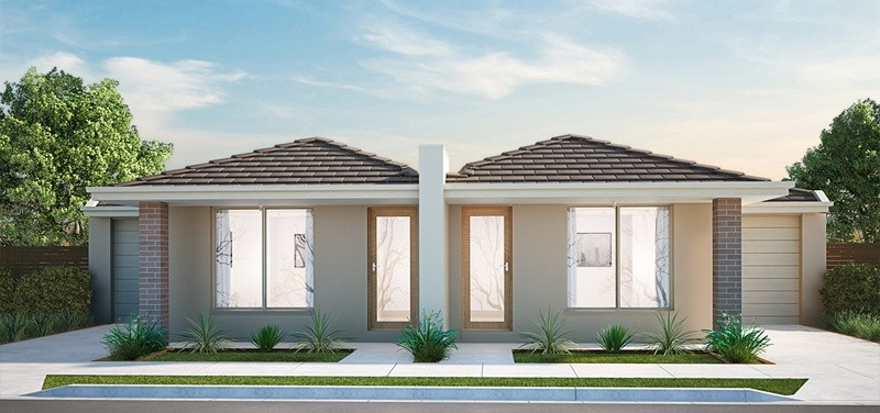 Single storey Jenkins - Duplex Dual Occupancy by Burbank Homes SA