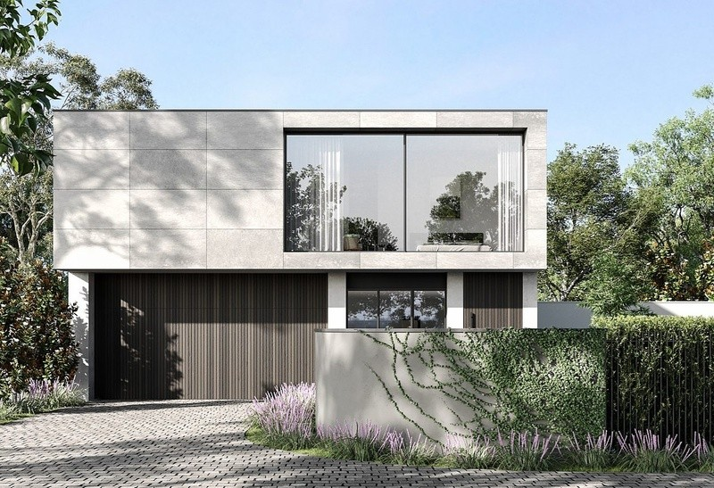 Double storey Elwood House design